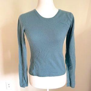 TSE 100% Cashmere Cropped Sweater